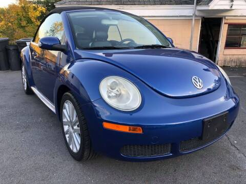 2008 Volkswagen New Beetle Convertible for sale at Dracut's Car Connection in Methuen MA