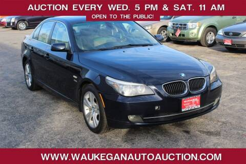 2009 BMW 5 Series for sale at Waukegan Auto Auction in Waukegan IL