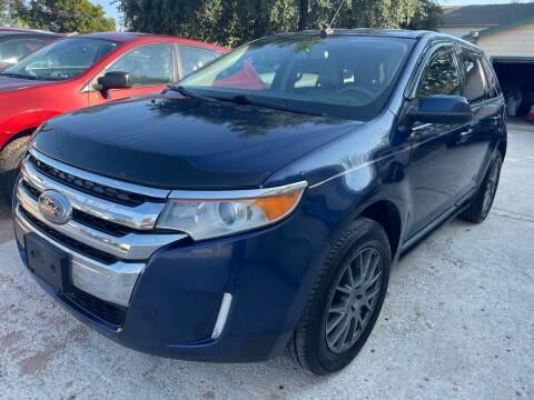 2012 Ford Edge for sale at S & J Auto Group in San Antonio TX