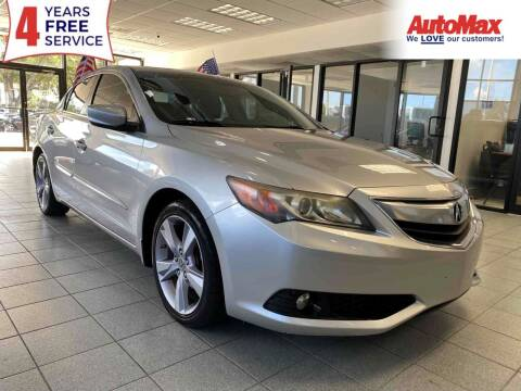 2013 Acura ILX for sale at Auto Max in Hollywood FL