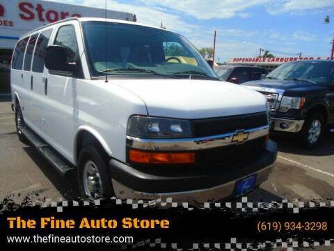 2015 Chevrolet Express Passenger for sale at The Fine Auto Store in Imperial Beach CA