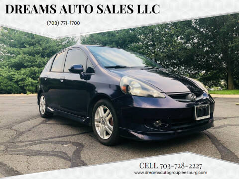 2008 Honda Fit for sale at Dreams Auto Sales LLC in Leesburg VA