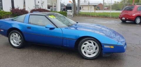 1990 Chevrolet Corvette for sale at Superior Motors in Mount Morris MI