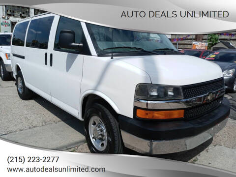 2009 Chevrolet Express Passenger for sale at AUTO DEALS UNLIMITED in Philadelphia PA