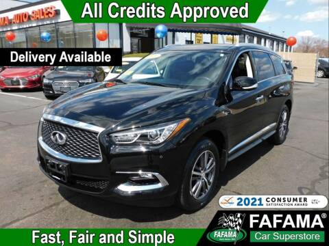 2017 Infiniti QX60 for sale at FAFAMA AUTO SALES Inc in Milford MA