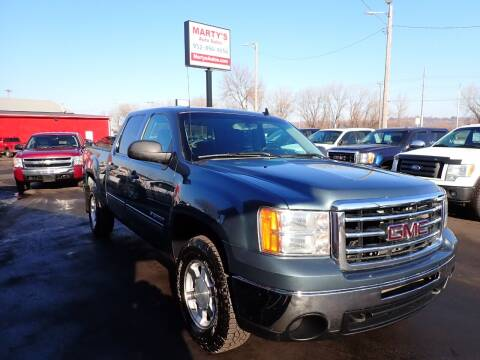 2012 GMC Sierra 1500 for sale at Marty's Auto Sales in Savage MN