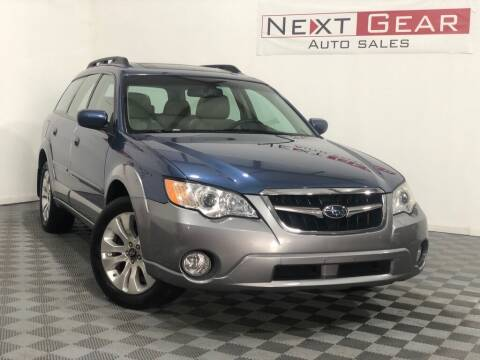 2008 Subaru Outback for sale at Next Gear Auto Sales in Westfield IN