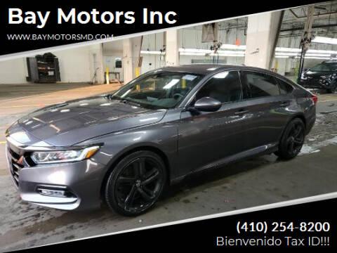 2019 Honda Accord for sale at Bay Motors Inc in Baltimore MD