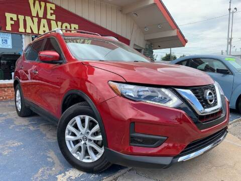 2017 Nissan Rogue for sale at Caspian Auto Sales in Oklahoma City OK