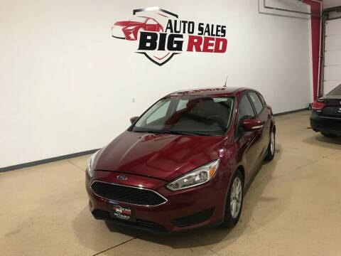 2016 Ford Focus for sale at Big Red Auto Sales in Papillion NE