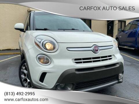 2014 FIAT 500L for sale at Carfox Auto Sales in Tampa FL