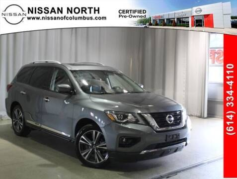 2019 Nissan Pathfinder for sale at Auto Center of Columbus in Columbus OH