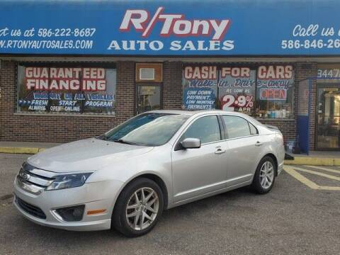 2012 Ford Fusion for sale at R Tony Auto Sales in Clinton Township MI