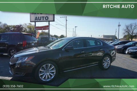 2013 Lincoln MKS for sale at Ritchie Auto in Appleton WI