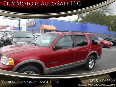 2002 Ford Explorer for sale at City Motors Auto Sale LLC in Redford MI