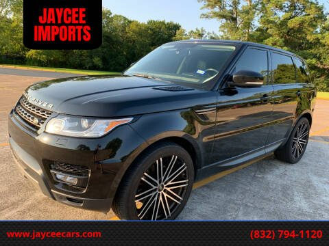 2014 Land Rover Range Rover Sport for sale at JAYCEE IMPORTS in Houston TX