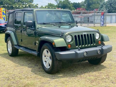 2008 Jeep Wrangler Unlimited for sale at Cutiva Cars in Gastonia NC