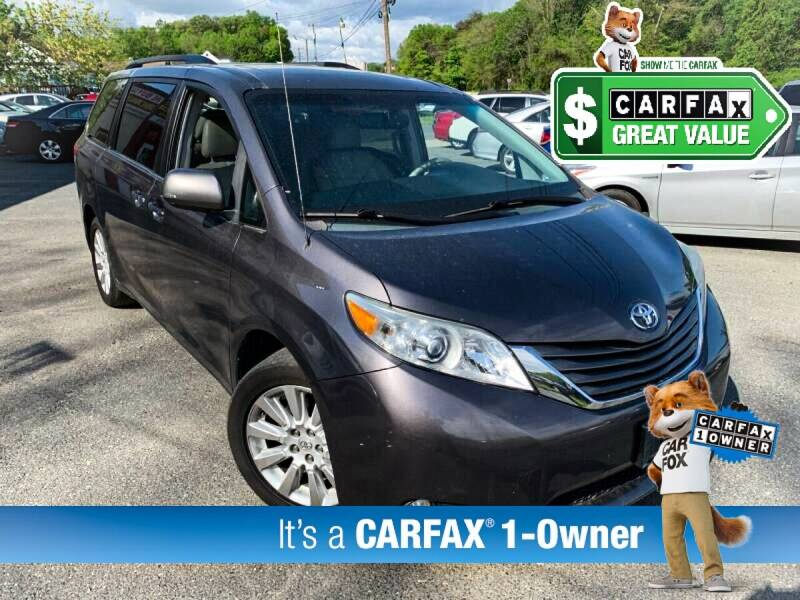 2013 Toyota Sienna for sale at High Rated Auto Company in Abingdon MD