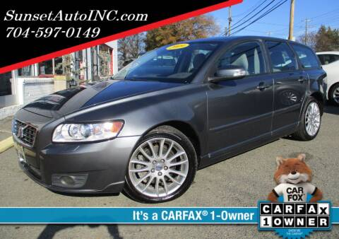 2009 Volvo V50 for sale at Sunset Auto in Charlotte NC