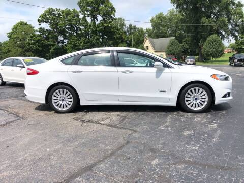 2016 Ford Fusion Energi for sale at Westview Motors in Hillsboro OH