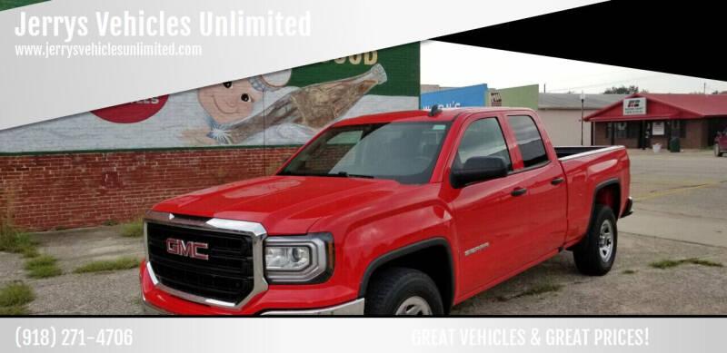 2017 GMC Sierra 1500 for sale at Jerrys Vehicles Unlimited in Okemah OK