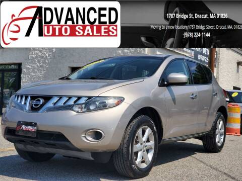 2010 Nissan Murano for sale at Advanced Auto Sales in Dracut MA