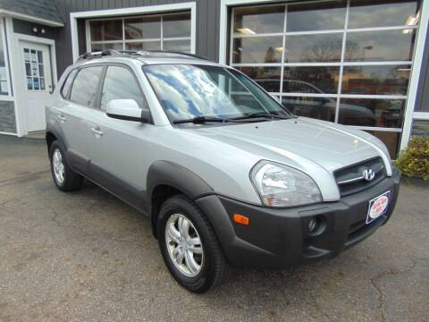 2007 Hyundai Tucson for sale at Akron Auto Sales in Akron OH