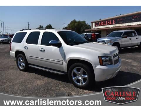 2013 Chevrolet Tahoe for sale at Carlisle Motors in Lubbock TX