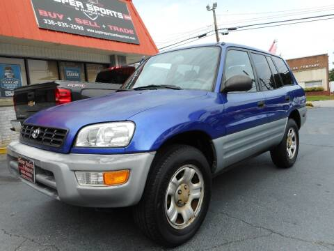 2000 Toyota RAV4 for sale at Super Sports & Imports in Jonesville NC