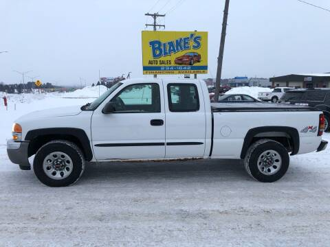 2007 GMC Sierra 1500 Classic for sale at Blakes Auto Sales in Rice Lake WI