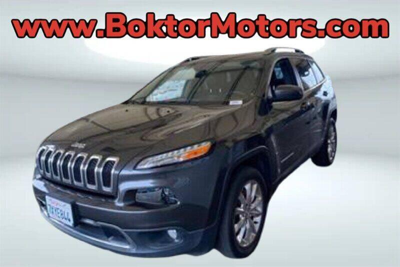 2016 Jeep Cherokee for sale at Boktor Motors in North Hollywood CA