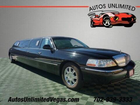 2006 Lincoln Town Car for sale at Autos Unlimited in Las Vegas NV