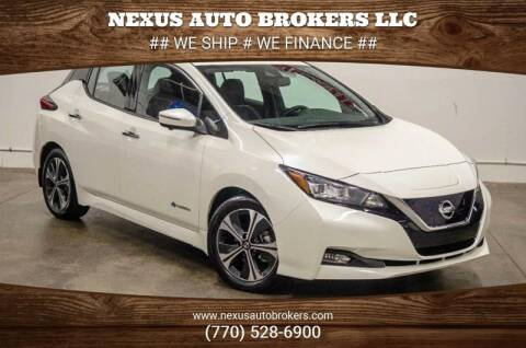 2018 Nissan LEAF for sale at Nexus Auto Brokers LLC in Marietta GA