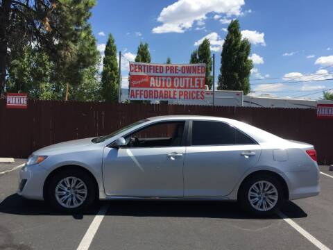 2012 Toyota Camry for sale at Flagstaff Auto Outlet in Flagstaff AZ