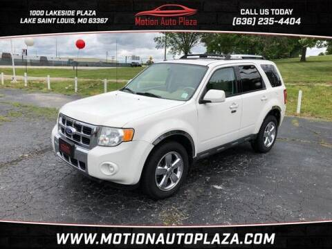 2012 Ford Escape for sale at Motion Auto Plaza in Lakeside MO