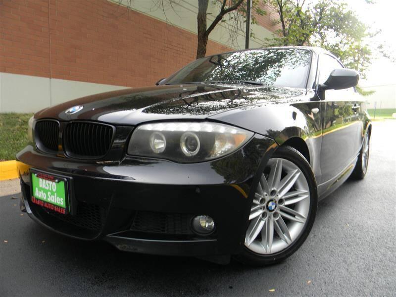2012 BMW 1 Series for sale at Dasto Auto Sales in Manassas VA