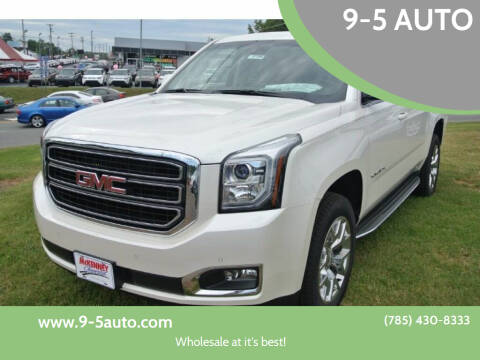 2015 GMC Yukon XL for sale at 9-5 AUTO in Topeka KS