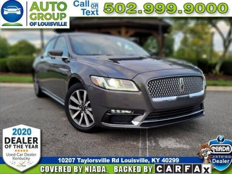2017 Lincoln Continental for sale at Auto Group of Louisville in Louisville KY