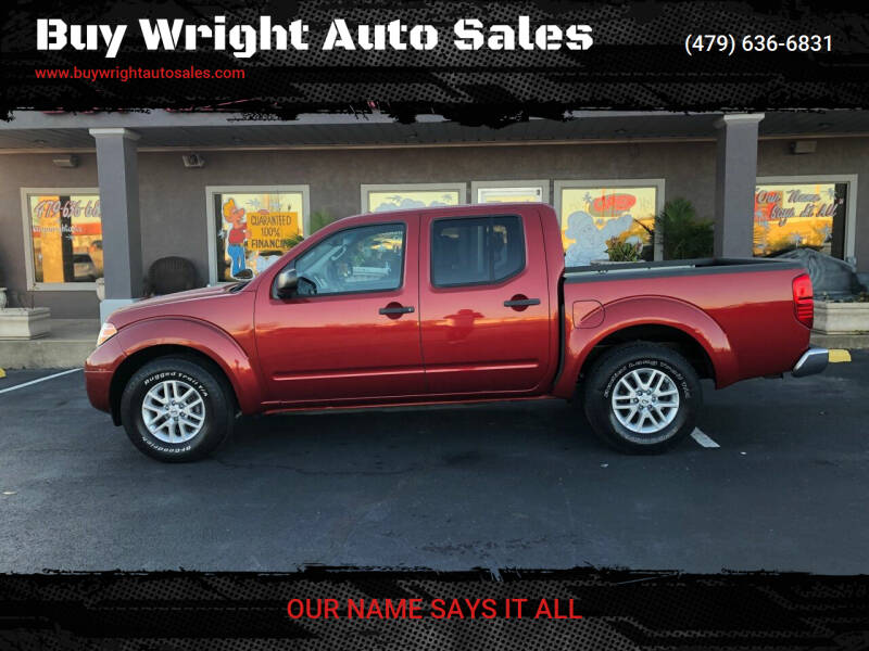 2014 Nissan Frontier for sale at Buy Wright Auto Sales in Rogers AR