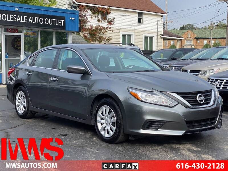 2016 Nissan Altima for sale at MWS Wholesale  Auto Outlet in Grand Rapids MI