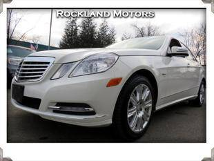 2012 Mercedes-Benz E-Class for sale at Rockland Automall - Rockland Motors in West Nyack NY