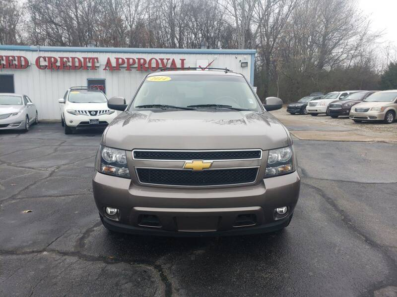 2014 Chevrolet Tahoe for sale at T & G Auto Sales in Florence AL
