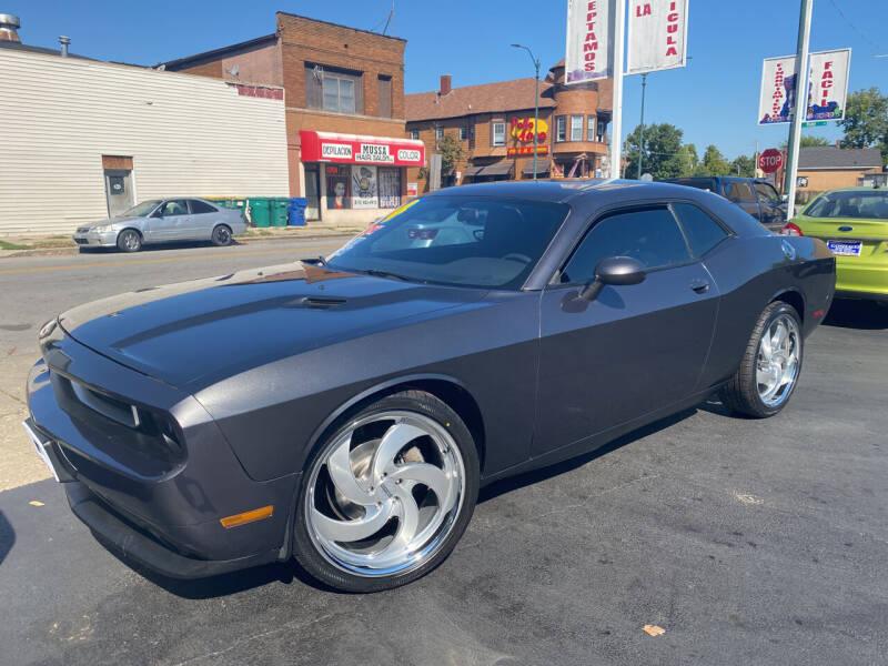 2014 Dodge Challenger for sale at Latino Motors in Aurora IL