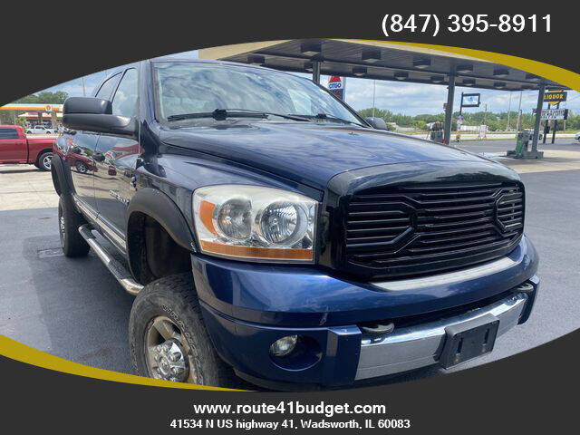 2006 Dodge Ram Pickup 3500 for sale at Route 41 Budget Auto in Wadsworth IL