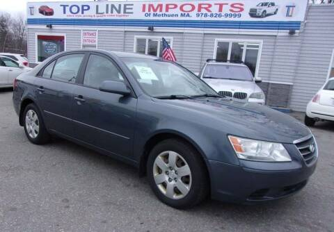 2009 Hyundai Sonata for sale at Top Line Import of Methuen in Methuen MA
