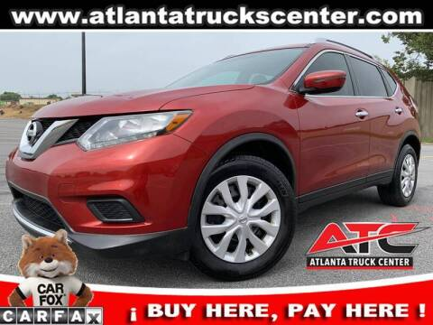 2016 Nissan Rogue for sale at ATLANTA TRUCK CENTER LLC in Brookhaven GA