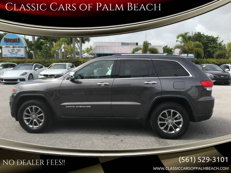 2015 Jeep Grand Cherokee for sale at Classic Cars of Palm Beach in Jupiter FL