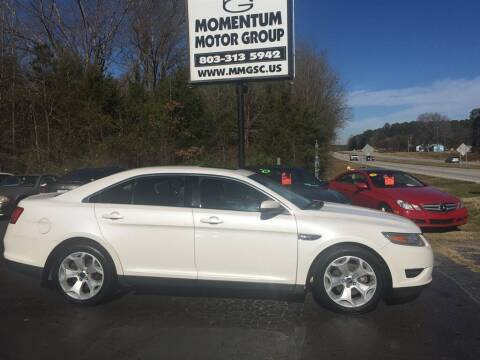 2010 Ford Taurus for sale at Momentum Motor Group in Lancaster SC