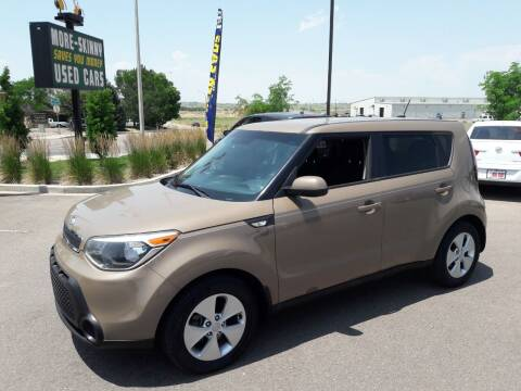 2014 Kia Soul for sale at More-Skinny Used Cars in Pueblo CO