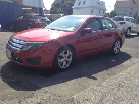 2012 Ford Fusion for sale at Worldwide Auto Sales in Fall River MA